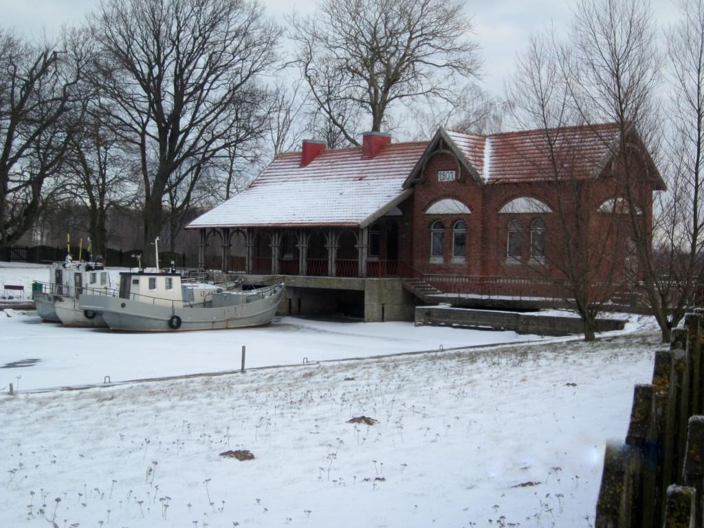 uostadvario vandens kelimo stotis ir polderiu muziejus